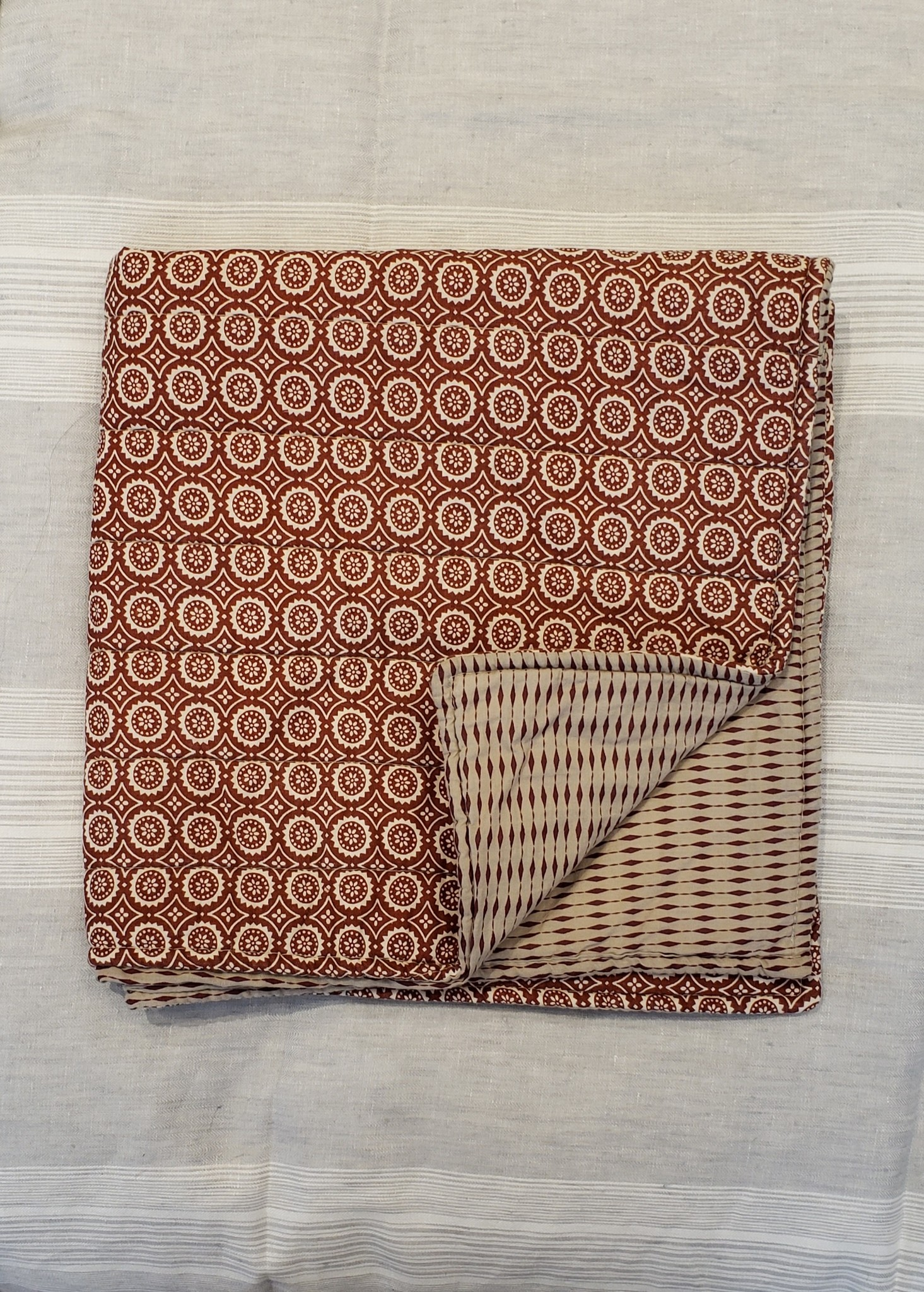Cushion Covers - Rust - Set of 3-1