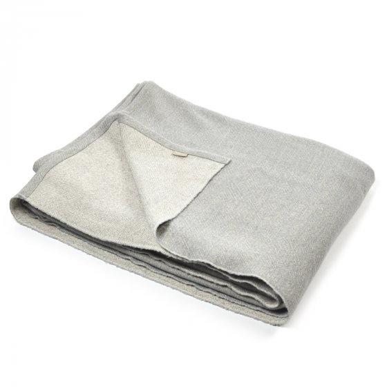 "Coverlet - Shetland - Grey 52 x 98""-1"