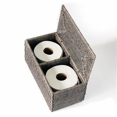 Toilet Paper Holder - Grey Wash-1