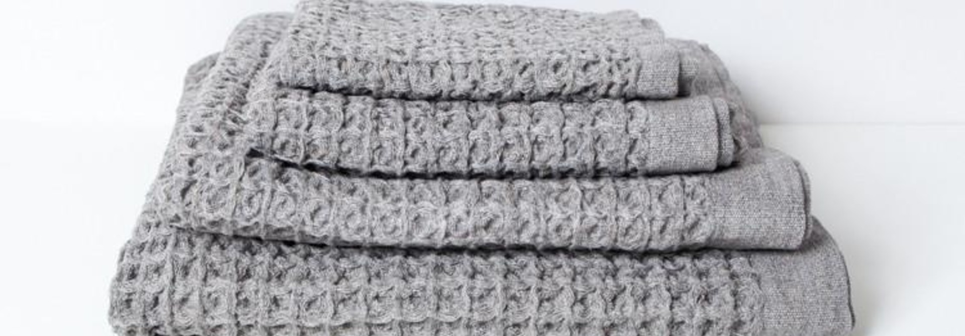 Bath Towel  - XL - Lattice - Grey