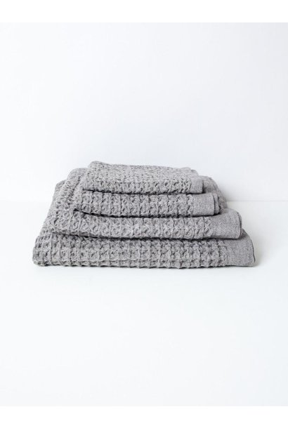 Hand Towel - Lattice - Grey
