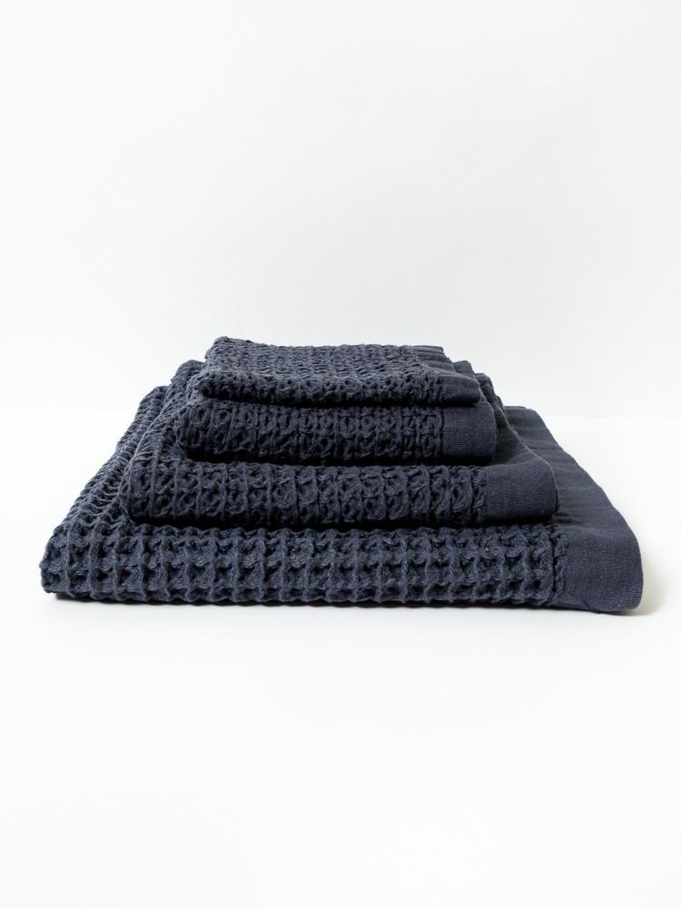 Bath Towel  - XL - Lattice - Navy-1