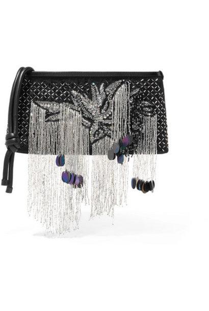 Embellished Clutch - Black