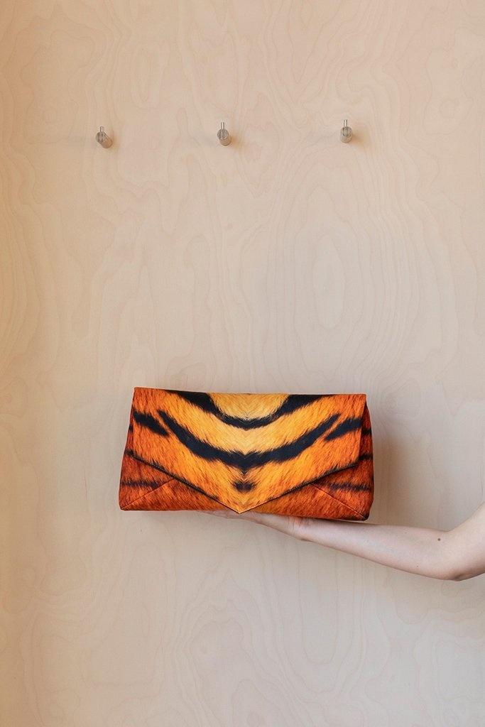 Clutch - Tiger Print-1