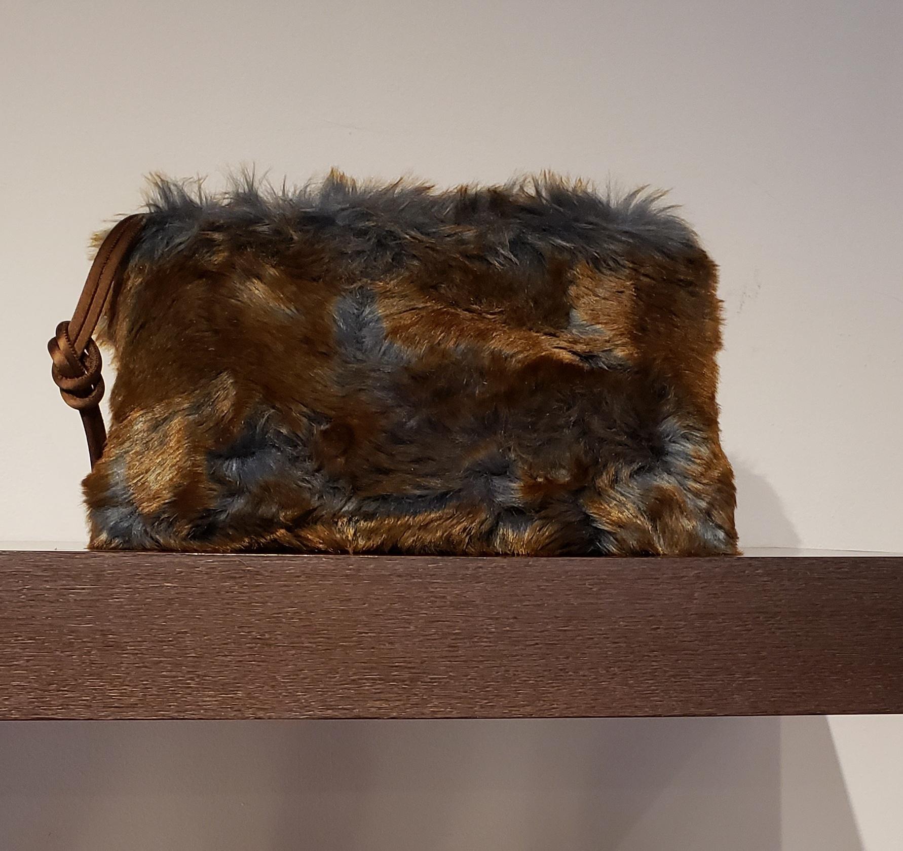 Clutch Bag- Fake Fur-2