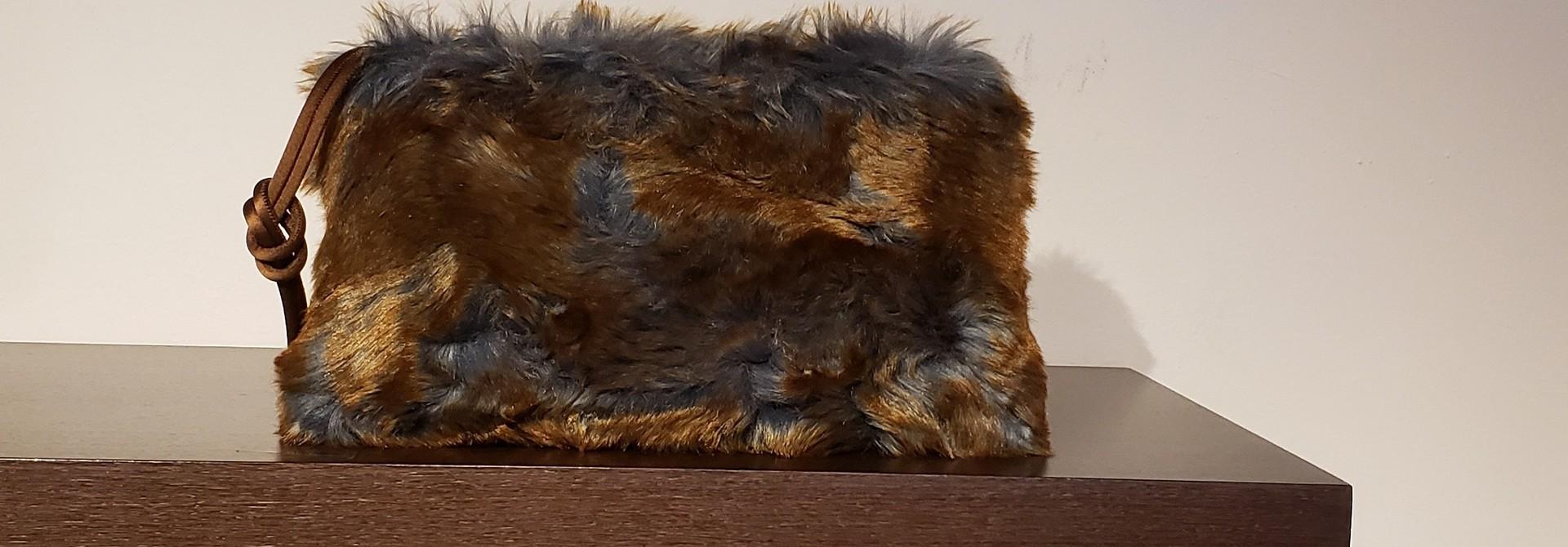 Clutch Bag- Fake Fur