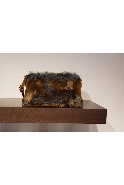 Clutch Bag- Fake Fur