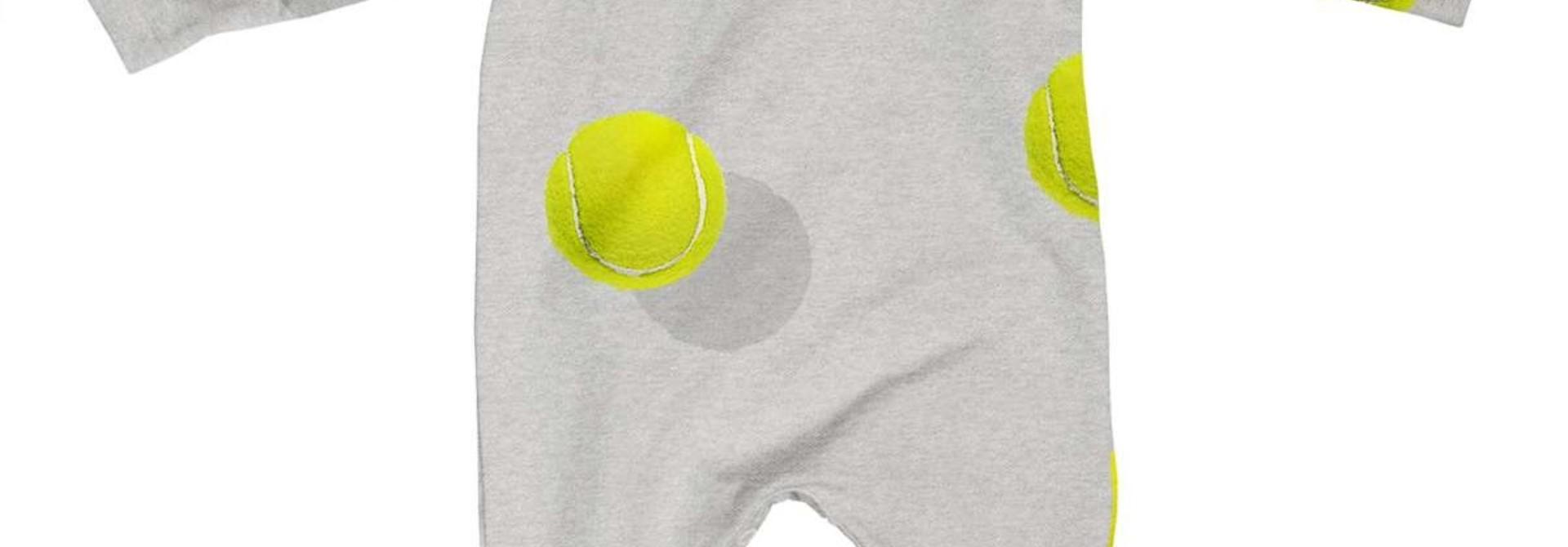 Jumpsuit - Tennis - Sz 2\3 mo.