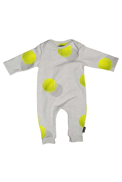 Jumpsuit - Tennis - Sz 4/6 mo.