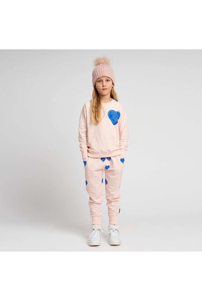 Sweatsuit - Heart -2 pc. - Sz 9/10