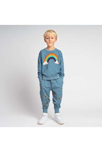 Sweatsuit - Rainbow - 2pc. - Sz 11/12 Yr