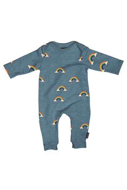 Jumpsuit - Rainbow - Sz 2/4 mo