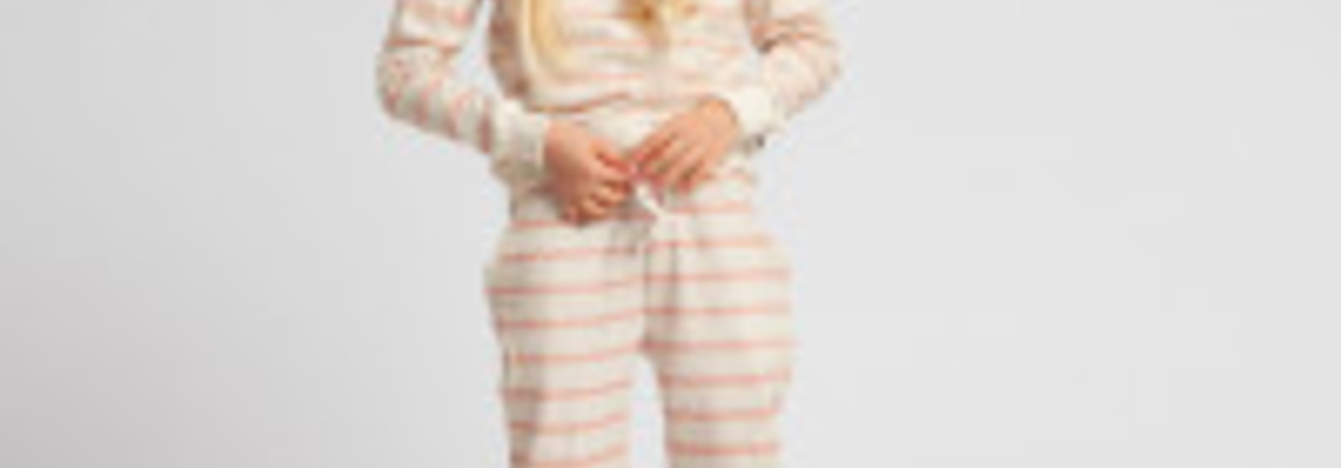 Sweatsuit - BretonPink - 2pc. - Sz. 7/8