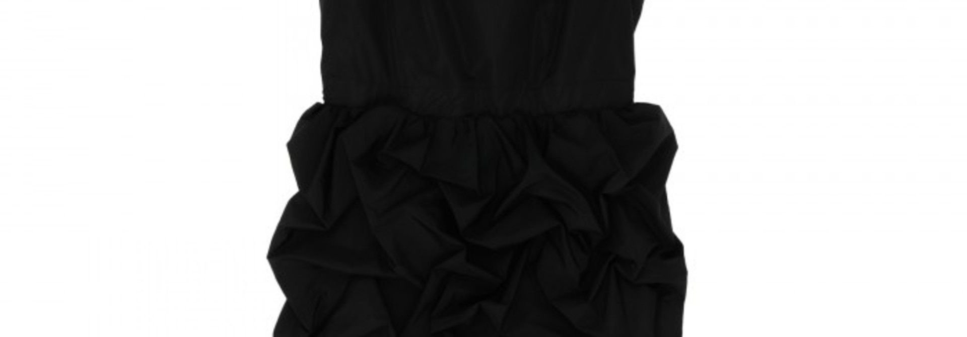 Bubble Dress - Black - FR. 40