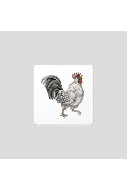 Coasters - Ralph the Rooster - Set of 6