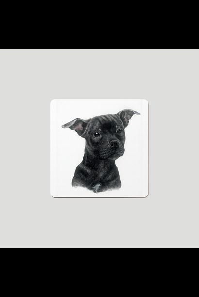 Coasters - Peanut - Eng Bullterrier - Set of 6