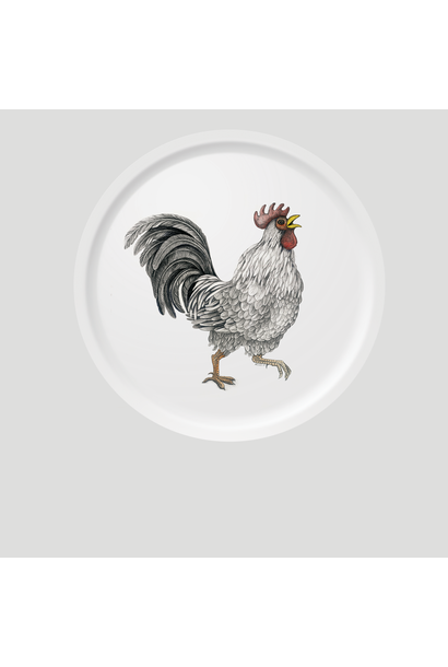 Circular Tray - Ralph - Rooster