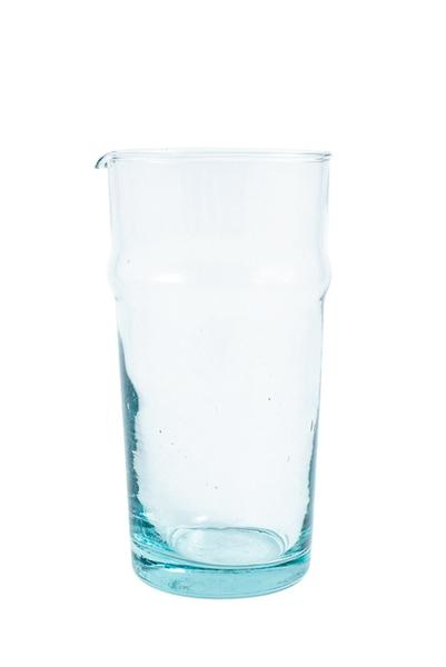Clear Carafe with Gold Band-2