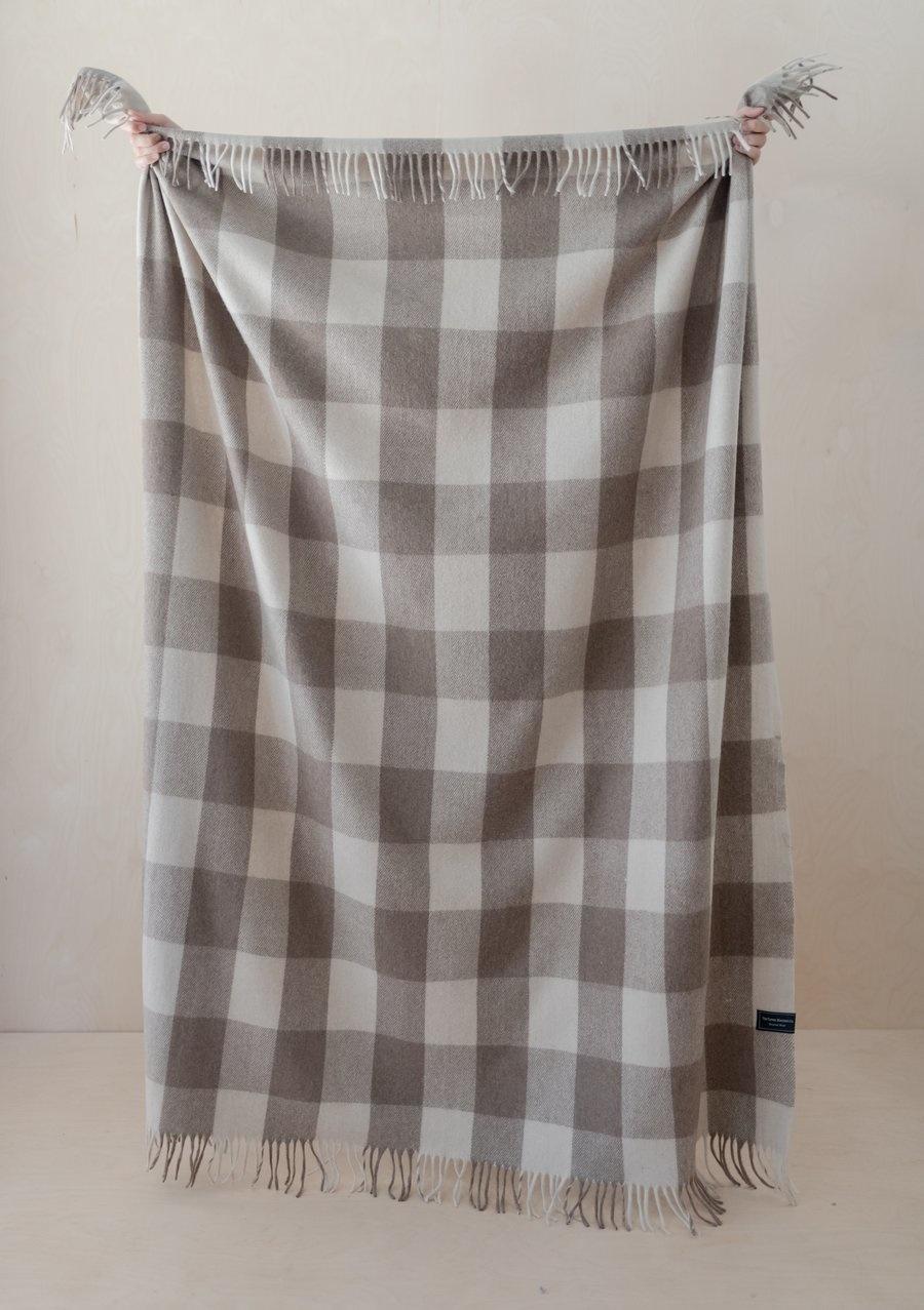 Recycled Wool Blanket - Jacob Tartan-1