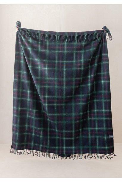 Recycled Wool Blanket - Mackenzie Tartan