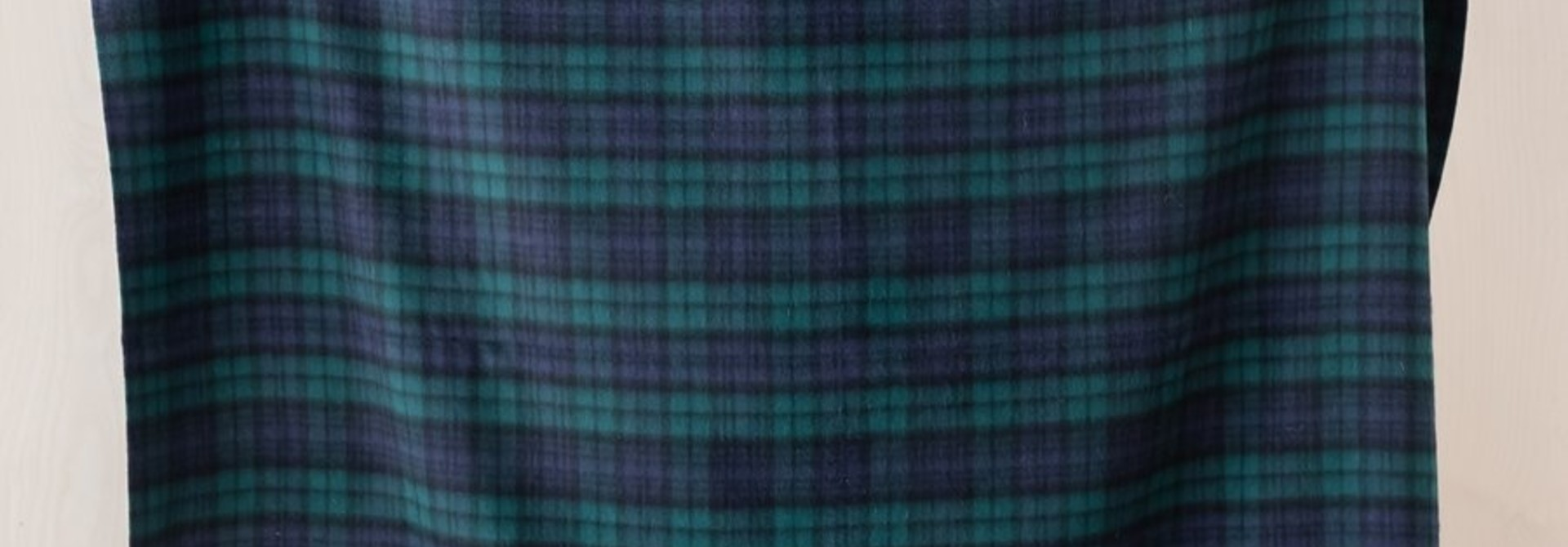 Lambswool Blanket - Black Watch Tartan