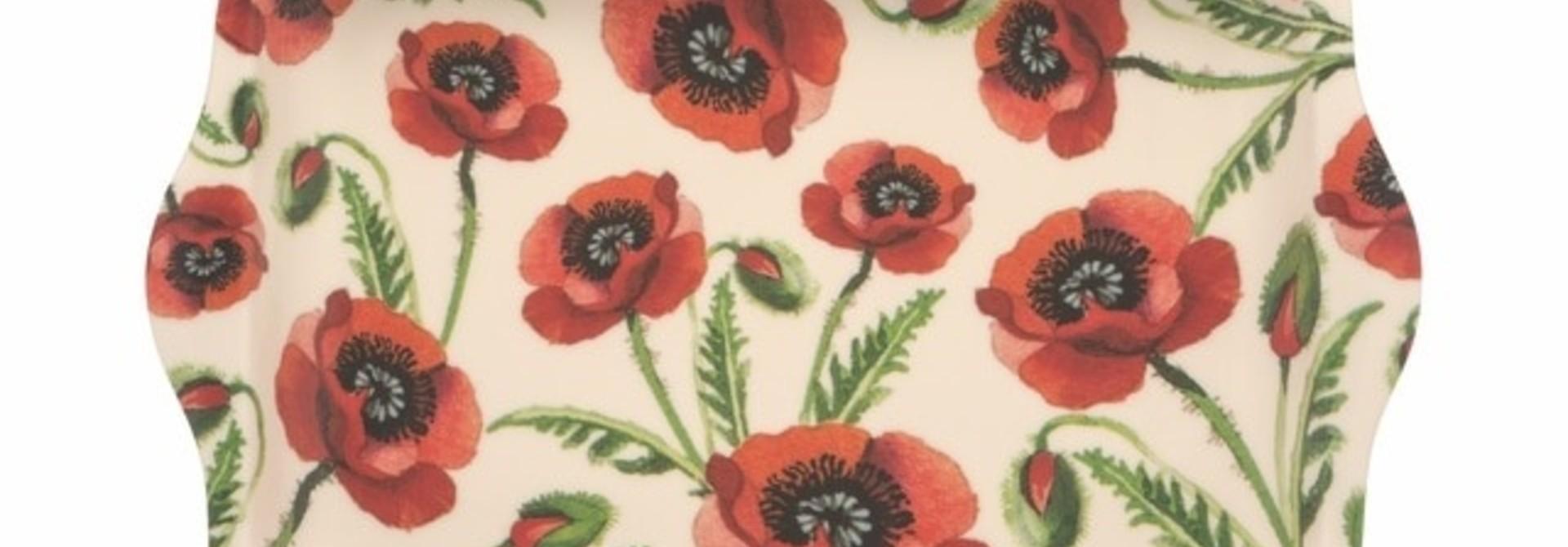Poppies Tray - Small
