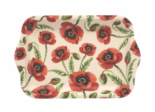 Poppies Tray - Small-1