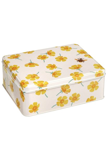 Buttercup Deep Rectangular Tin