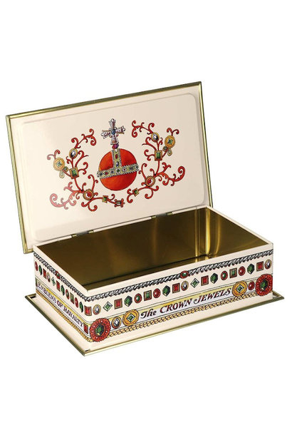 Royal Celebration Rectangular Tin