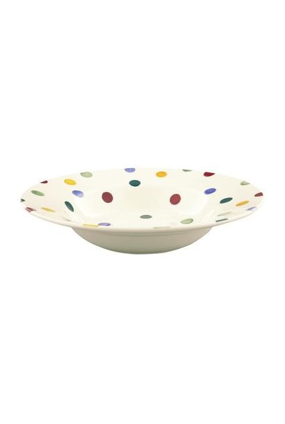 Soup Plate - Polka Dot