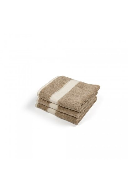 Spa Bath Towel - Simi  - Beige/Cream