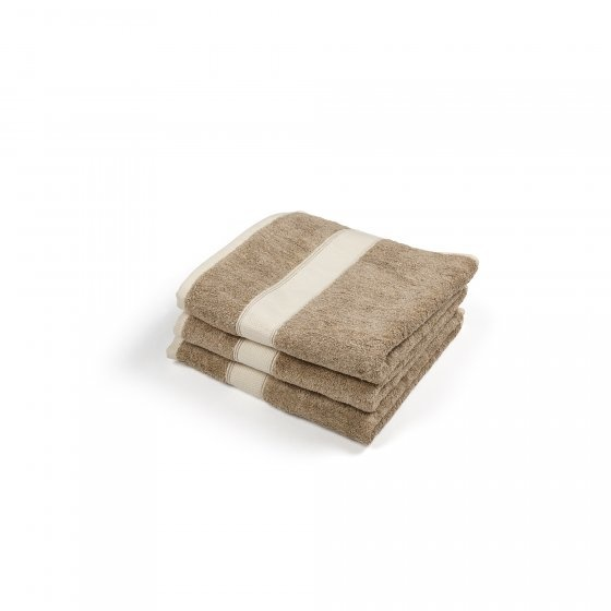 Spa Guest Towel - Simi  - Beige/Cream-1