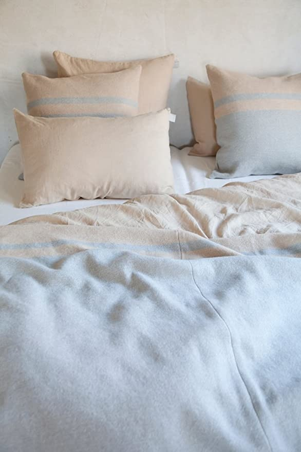 Coverlet - Lincoln - Grey/Camel-1