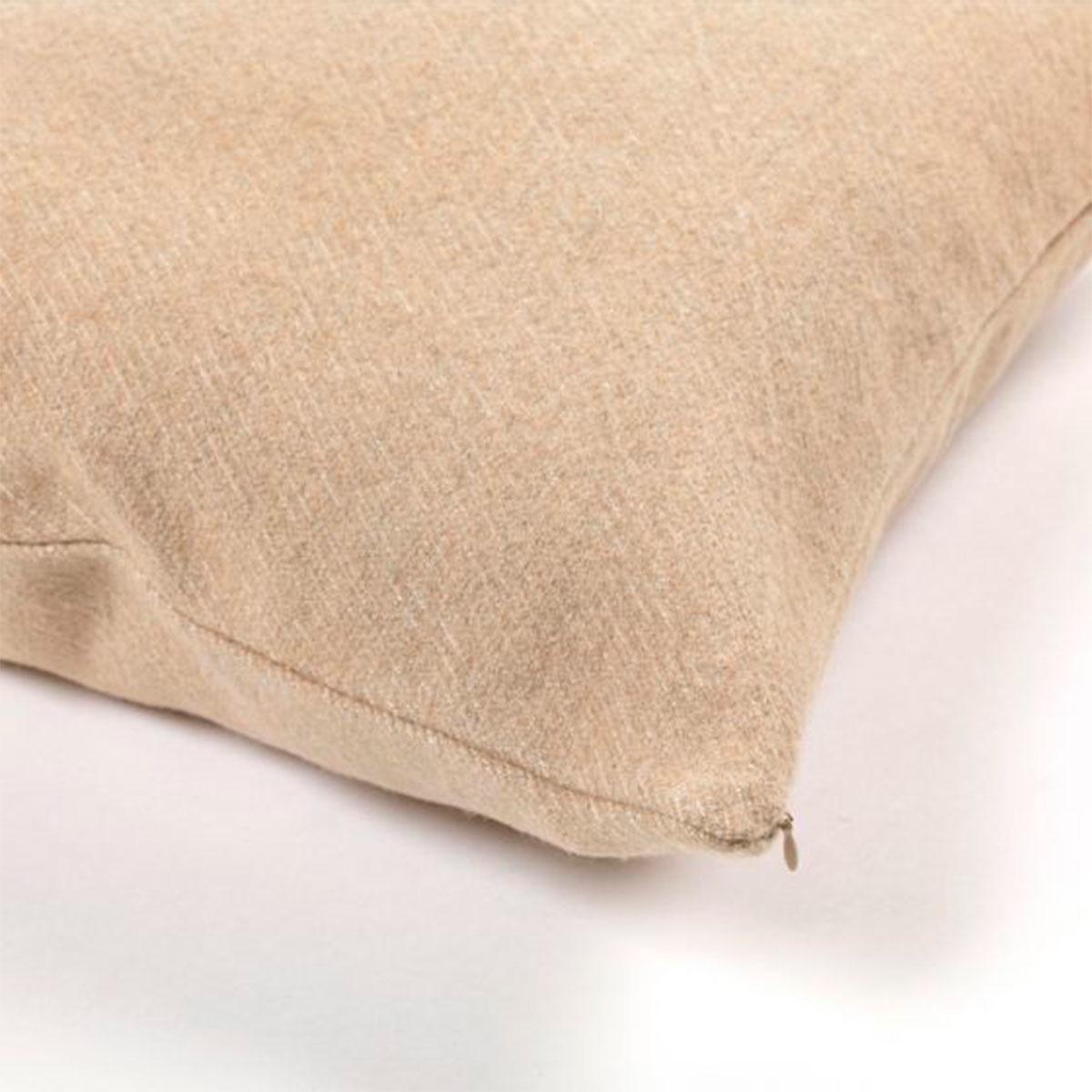 Cushion Cover - Shetland - Camel  - Set of 3-2