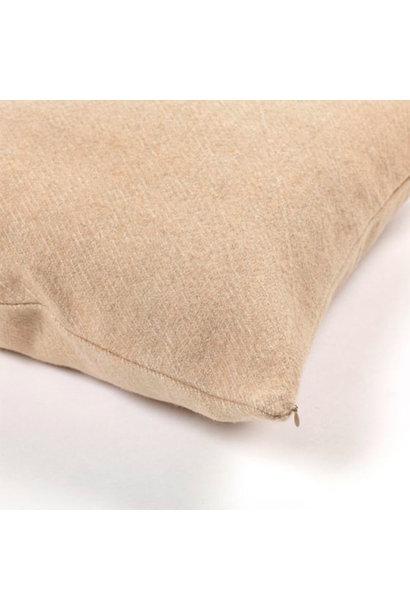 Cushion Cover (lg) - Shetland - Camel