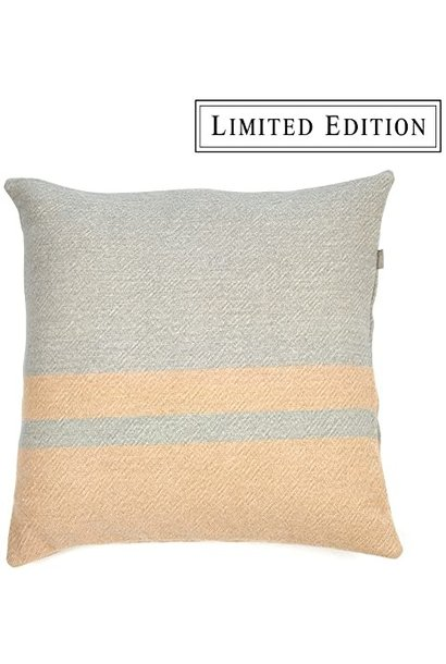 Cushion Cover - Lincoln - Grey/Camel