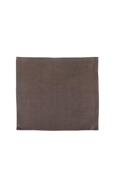 Tablecloth -Vence - Cafe Noir - Sq.