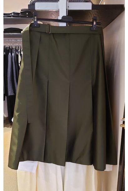 Skirt - Dark Olive - Sz. 44