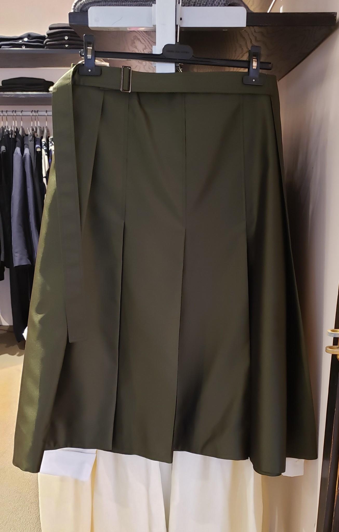 Skirt - Dark Olive - Sz. 44-1