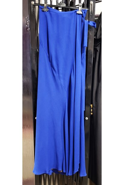 Skirt - Max Wrap - Blue - Sz. 40