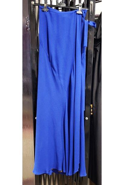 Skirt - Max Wrap - Blue - Sz. 40