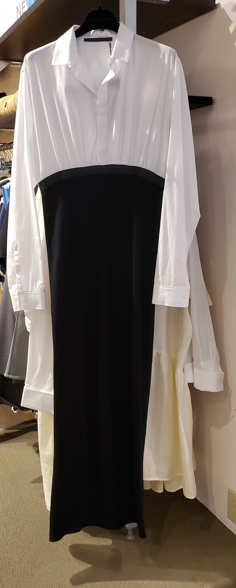 Dress - White/Blk - Sz. 42-1