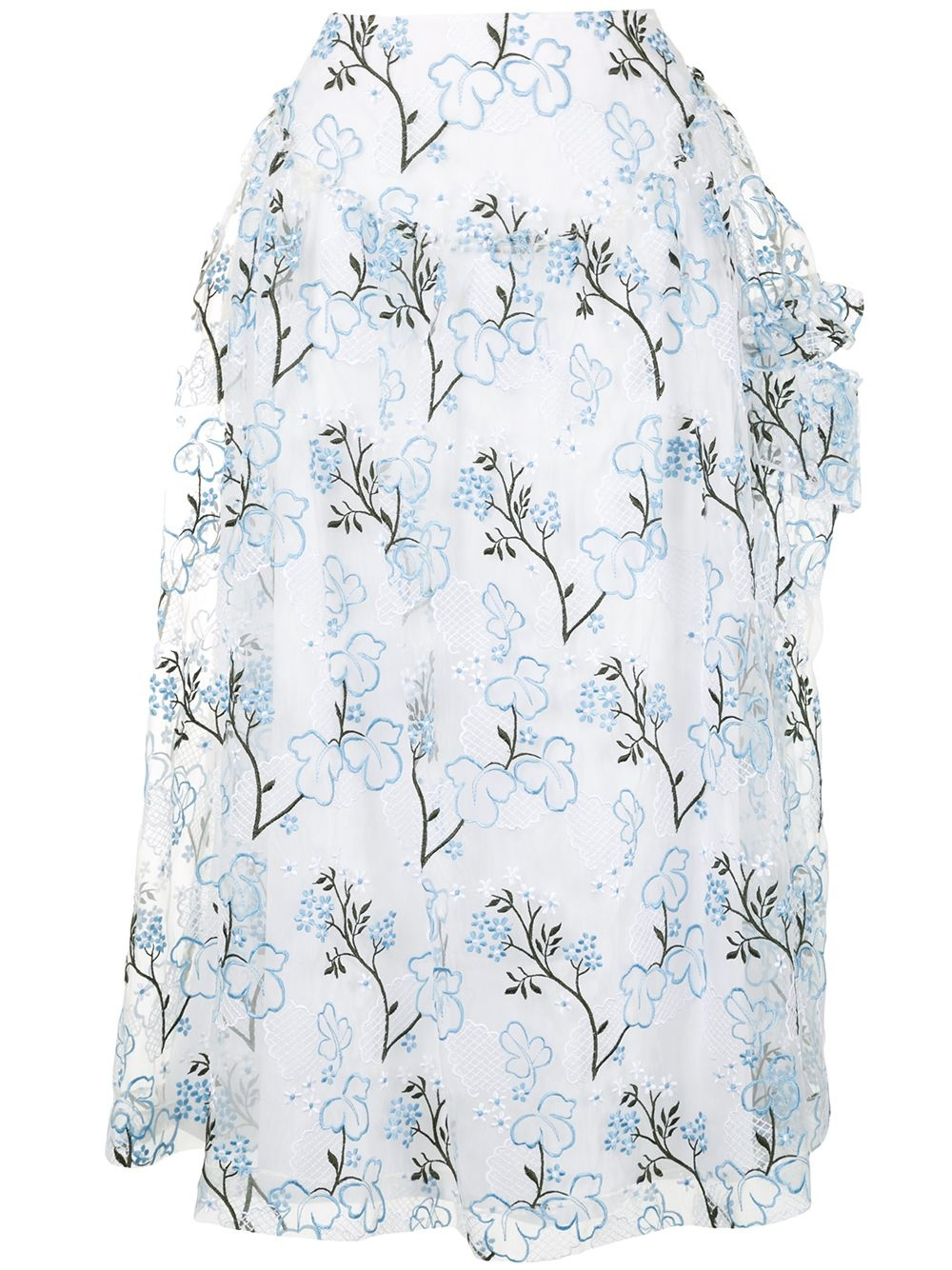 Skirt - Floral - Sz UK 8-1