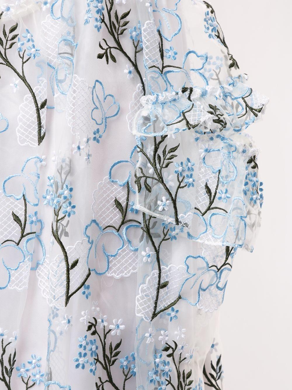 Skirt - Floral - Sz UK 8-2