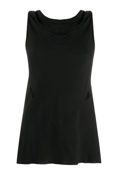 Top - Open Back- Black - Sz. 44