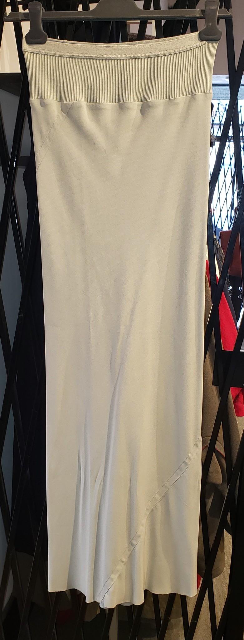 Skirt - Full length - Pearl - Sz 42-1
