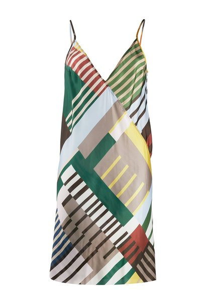 Slip Dress - Uxmal Print - Sz. 40