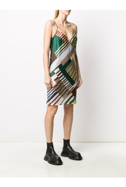 Slip Dress - Uxmal Print - Sz. 42