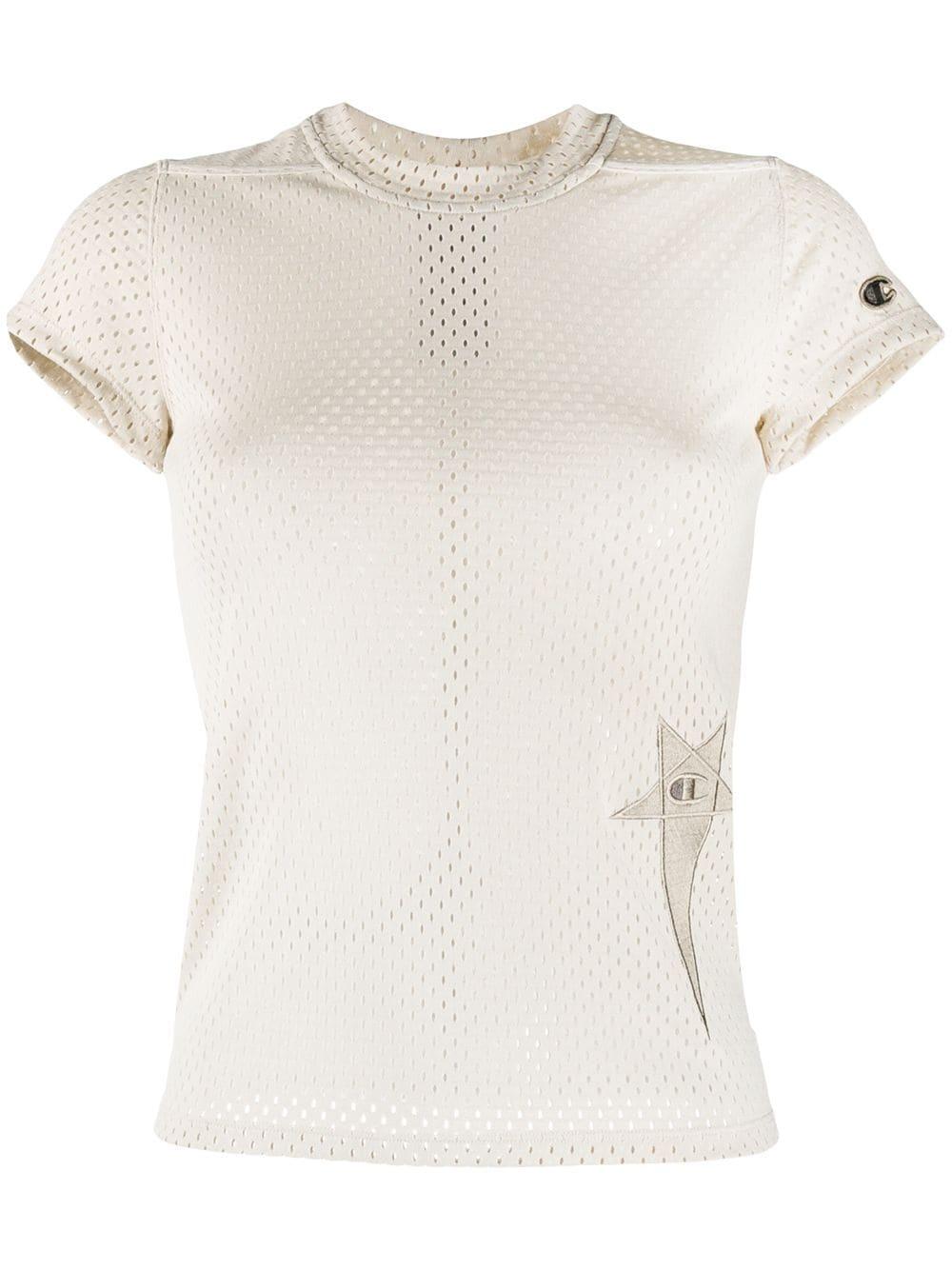 T-shirt - Mesh - Pearl - XS-1