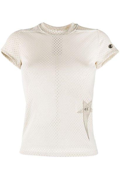 T-shirt - Mesh - Pearl - S